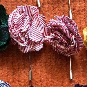 Mens Lapel Pins various colors